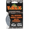"T-REX Duct Tape - 0.98"" Width x 30 ft Length - Polyethylene, Cloth - Durable - 1 Roll - Silver"