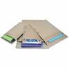 "Jiffy Mailer Padded Self-seal Mailers - Multipurpose - #5 - 10.50"" Width x 16"" Length - Self-sealing Flap - Kraft - 25 / Carton - Natural Kraft, Satin Gold"