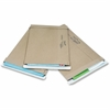 "Jiffy Mailer Utility Mailers - Shipping - 2E - 9"" Width x 12"" Length - Self-sealing - Kraft, Paper - 100 / Carton - Natural Kraft"