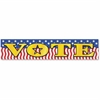 "Teacher Created Resources Vote Banner - Encouragement - 39"" Width x 8"" Height - Red, White, Blue"