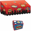 "Teacher Created Resources Superhero Awnings Chest Set - 8.50"" Height x 9.50"" Width x 8"" Depth - Multicolor - 2 / Set"