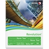 "Xerox Revolution Synthetic Paper - Letter - 8.50"" x 11"" - 155 g/m² Grammage - Matte - 98 Brightness - 100 / Pack - White"