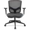 "Lorell Executive Chair - Black - 27.5"" Width x 28.5"" Depth x 38.5"" Height"