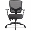 "Lorell Executive Chair - Black - 26.8"" Width x 28.5"" Depth x 39.5"" Height"