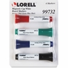 Lorell Dry Erase Marker - Assorted - 4 / Set