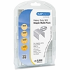 "Rapesco 923 Galvanised Staples Multi-Pack - 5/16"", 3/8"", 1/2"", 13mm - for Paper - Heavy Duty - 3200 / Pack"