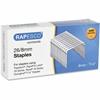 """Rapesco Staples - 26/8mm - 5/16"""" Leg - 5000 / Pack"""