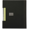 "TOPS Business Notebook - Printed - Twin Wirebound - Ruled 6"" x 8"" - Black Cover"