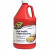 Zep Commercial High Traffic Carpet Cleaner - Liquid Solution - 1 gal (128 fl oz) - 1 Each - Red