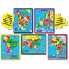 A Broader View Jigsaw Puzzle - Theme/Subject: Learning - Skill Learning: Landmark, Animal, Geography, Continents, State, Countries, Building - 171 Pieces