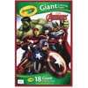 "Crayola Marvel Avengers Giant Coloring Pages - 18 Pages 19.50"" x 12.75"" - Multicolor Paper - 1Each"