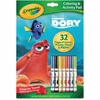 Crayola Disney Finding Dory Coloring/Activity Pad - 1 Each - Multicolor