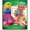 Crayola Trolls Color/Sticker Book - 1 Each - Multicolor