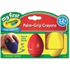 Crayola My First Palm-Grip Crayons - Red, Blue, Yellow - 3 / Pack