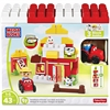 Mega Bloks Farmhouse Friends Building Blocks Set - Theme/Subject: Animal, Fun - Skill Learning: Imagination, Farm, Building - 43 Pieces