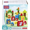Mega Bloks Animal Families Building Blocks Set - Theme/Subject: Learning, Animal - Skill Learning: Building, Matching, Stacking, Motor Skills, Problem Solving - 50 Pieces