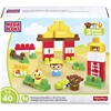 Mega Bloks Barnyard Buddies Building Blocks Set - Theme/Subject: Learning, Fun - Skill Learning: Building, Farm, Imagination, Motor Skills, Problem Solving - 40 Pieces