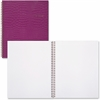 Cambridge Trucco Croc Twin Wire Purple Notebook, 80 Sheets, LG (59024) - 80 Sheets - Twin Wirebound - Purple Cover Faux Crocodile