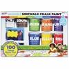 RoseArt Washable Sidewalk Chalk Paint Super Set - 8 / Pack - Assorted