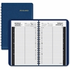 "At-A-Glance Classic Size Daily Appointment Book - Julian - Daily - 1 Year - January 2017 till December 2017 - 7:00 AM to 7:45 PM, 9:00 AM to 4:45 PM - 1 Day Single Page Layout - 4.87"" x 8"" - Wire Boun"