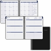 "At-A-Glance Collegiate Monthly Appointment Book - Julian - Monthly, Weekly - 1.1 Year - July 2016 till June 2017 - 7:00 AM to 6:00 PM - 1 Week, 1 Month Double Page Layout - 8"" x 9.88"" - Black"