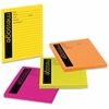 "Post-it Neon Important Message Pad - 50 Sheet(s) - 4"" x 5"" Sheet Size - Assorted Sheet(s) - 4 / Pack"