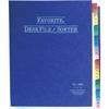 """Wilson Jones® Favorite® Desk File/Sorter - Printed 1-31 - Letter - 8.50"""" Width x 11"""" Length - Midnight Blue - 1 Each"""
