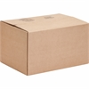 "Sparco Corrugated Shipping Cartons - External Dimensions: 14"" Width x 10"" Depth x 8"" Height - Kraft - Recycled - 25 / Pack"