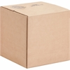 "Corrugated Shipping Carton - External Dimensions: 10"" Width x 10"" Depth x 10"" Height - Kraft - Recycled - 25 / Pack"