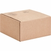 "Sparco Corrugated Shipping Cartons - External Dimensions: 12"" Width x 12"" Depth x 6"" Height - Kraft - Recycled - 25 / Pack"