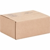 "Sparco Corrugated Shipping Cartons - External Dimensions: 11.8"" Width x 8.8"" Depth x 4.8"" Height - Kraft - Recycled - 25 / Pack"
