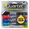 EnduraGlide Dry-Erase Markers - Bullet Point Style - Red, Green, Black, Blue - 4 / Set