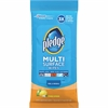 Pledge Multi Surface Cleaner Wipes - 25 / Pack - White