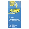 Aleve Pain Reliever Tablets - For Arthritis, Headache, Muscular Pain, Toothache, Backache, Common Cold, Menstrual Cramp, Fever - 50 / Box