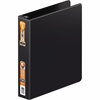 "Wilson Jones® Heavy Duty Round Ring Binder w/ Extra Durable Hinge - 1 1/2"" Binder Capacity - Letter - 8 1/2"" x 11"" Sheet Size - 350 Sheet Capacity - Round Ring Fastener - 2 Internal Pocket(s) - Bl"