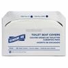 Genuine Joe Toilet Seat Covers - 2500 / Carton - White