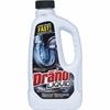 Diversey Drano Liquid Clog Remover - Liquid - 0.25 gal (32 fl oz) - 1 Each