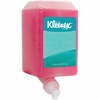 Kleenex Kimcare Lotion Cleanser Refill - 1.06 quart - Push Pump Dispenser - pH Balanced - Pink