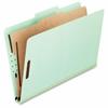 "Pendaflex 17175 Pressboard Classification Folder - Legal - 8 1/2"" x 14"" Sheet Size - 2"" Expansion - 4 Fastener(s) - 2"" Fastener Capacity for Folder - 2/5 Tab Cut - Right of Center Tab Location - 1 Div"