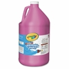 Crayola 1 Gallon Washable Paint - 1 gal - 1 Each - Magenta