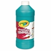 Crayola 32 oz. Premier Tempera Paint - 1 quart -Turquoise Blue