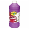 Crayola 32 oz. Premier Tempera Paint - 1 quart - 1 Each - Violet