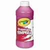 16 oz. Premier Tempera Paint - 16 fl oz - 1 Each - Magenta