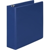 "368 Basic Round Ring Binder - 3"" Binder Capacity - 550 Sheet Capacity - 3 x Round Ring Fastener(s) - 2 Internal Pocket(s) - Blue - 1 Each"