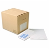 "Quality Park No. 9 Bulk Double Window Envelopes - Double Window - #9 - 3.88"" Width x 9.88"" Length - 24 lb - Gummed - Wove - 1000 / Carton - White"