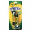 Crayola Washable Glue Sticks - 0.29 oz - 2 / Pack - Blue