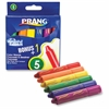 Dixon Washable Color Wands - Red, Orange, Yellow, Green, Blue, Purple - 6 / Set