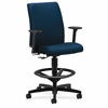 "HON Ignition Task Stool - Mariner Seat - 5-star Base - Mariner - 27.5"" Width x 27.5"" Depth x 53"" Height"