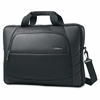 "Samsonite Xenon 2 Slim Laptop Briefcase for a 17.3"" screen- Black - Handle, Carrying Strap - 12.6"" Height x 18.3"" Width x 2.3"" Depth"