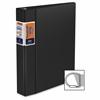 "Deluxe QuickFit Commercial D-Ring Binder - 1 1/2"" Binder Capacity - Letter - 8 1/2"" x 11"" Sheet Size - 300 Sheet Capacity - 3 x D-Ring Fastener(s) - 2 Inside Front & Back Pocket(s) - Polyvinyl"